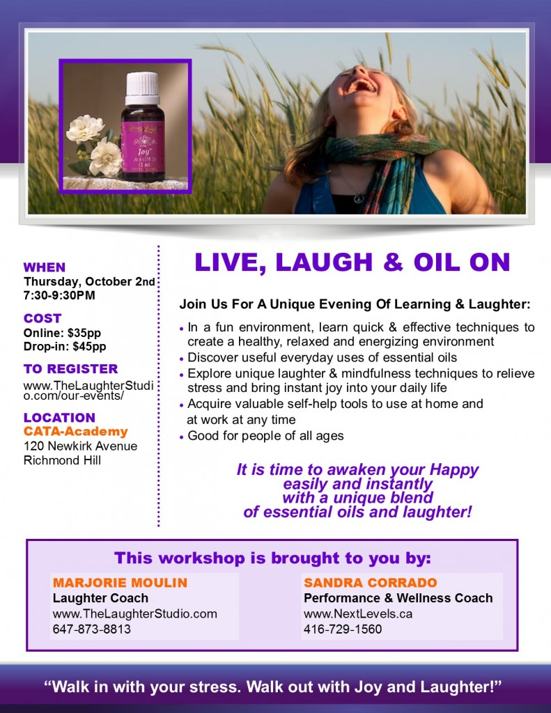 Laughter Essential Oils Version 4 791x1024 Our Events